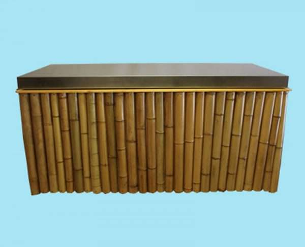 Bamboe uitgiftebuffet