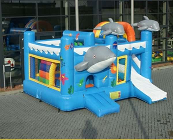 Springkussen Dolfijn