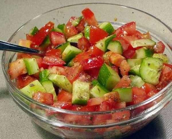 Tomatensalade