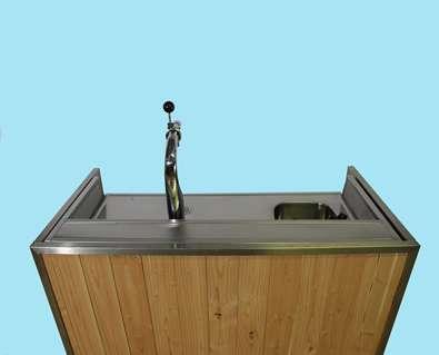 Mobiele bar hout