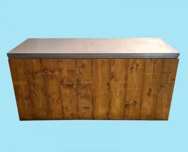 Uitgiftebuffet hout 190cm