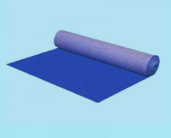 Blauwe loper 10 x 2 m