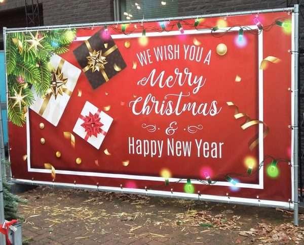 Decordoek-'Merry-Christmas'-op-bouwhek