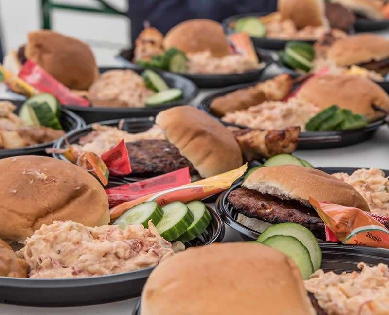Hamburgers voor de scouting