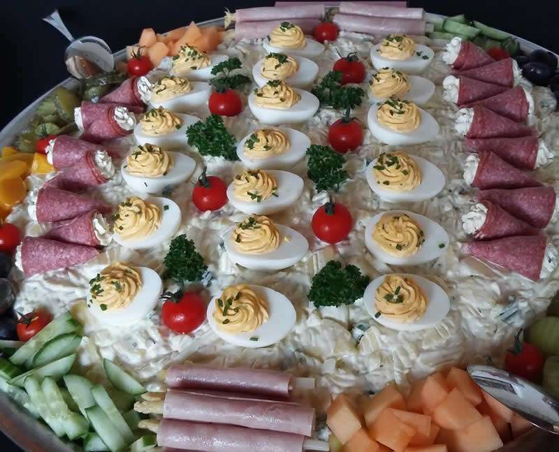 Salade met ei