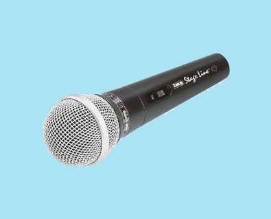 Microfoon met snoer